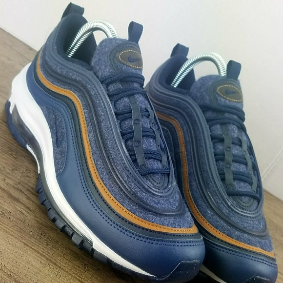3224d044b9c Nike Air Max 97 SE (GS) RETRO Blue Obsidian Youth